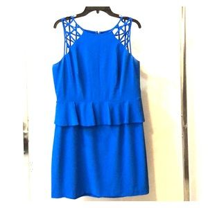 Blue Peplum Masterpiece